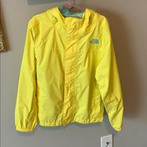 kids north face rain jacket